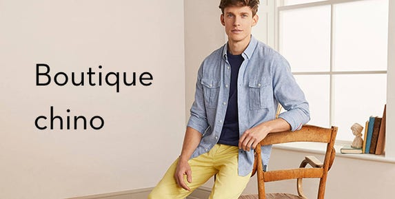 Boutique Chino Homme